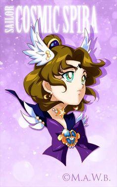 Sailor Cosmic Spira(Drachea Rannak) by Yukina-Snowbunny