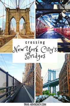 NYC has several bridges connecting the island of Manhattan to Brooklyn, Queens and NJ. They're all walkable and offer views of NYC that you can't get otherwise! Check out the bridges we've crossed to add to your list of sites to see in NYC. #NYC #travel #bridges #hiking #cityhiking #newyorkcity #newyork Usa Travel Guide, Travel Usa, Travel Info, Travel Tips, Costa Rica, Walkway Over The Hudson, Williamsburg Bridge, Roosevelt Island, New York City Travel
