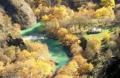 Voidomatis River in Autumn - Zagorohoria, Epirus Maybe Someday, Lovely Smile, Autumn Nature, Holiday Accommodation, Planet Earth, To Go, River, Vacation, Explore