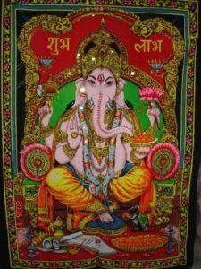 25pcs India Gods Sequin Batik 55cm x 40cm Tapestry Wall Hangings WHOLESALE LOT | eBay