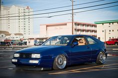 VW Corrado. Never saw one but this looks sweet.