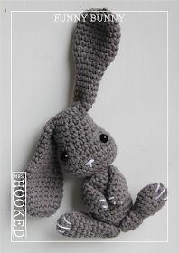 Mesmerizing Crochet an Amigurumi Rabbit Ideas. Lovely Crochet an Amigurumi Rabbit Ideas. Bunny Crochet, Easter Crochet, Crochet Patterns Amigurumi, Cute Crochet, Crochet Animals, Crochet Dolls, Crochet Gifts, Baby Accessoires, Funny Bunnies