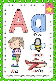 Abecedario Psicomotriz Abecedario Para Ninos Alfabeto