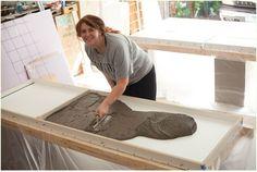 DIY Concrete Countertops & a kitchen update