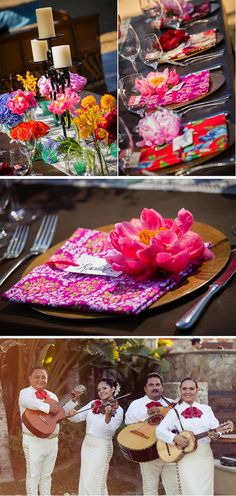 Destination Weddings - Mexican Fiesta! http://www.foreverbride.com/12-wedding-planning/the-ceremony/481-destination-wedding-mexican-fiesta#