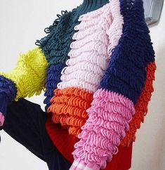 Knitting Ideas, Knitting Designs, Crochet Designs, Alternative Wedding Dresses, Knit Picks, Cool Sweaters, Crochet Fashion, Jared Leto, Picasso
