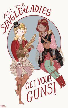 Single Ladies Whatever by Giovana Medeiros, via Flickr