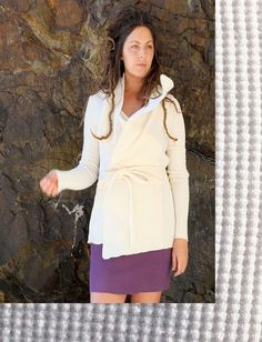 Gaia Conceptions - Belted Cocoon Thermal Jacket, $135.00 (http://www.gaiaconceptions.com/belted-cocoon-thermal-jacket/)