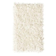 Home Decorators Collection Ultimate Shag Ivory 9 ft. x 12 ft. Area Rug - 2987880420 - The Home Depot
