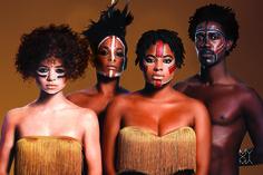 Muxima Roots © 2015 Photo by Gonçalo Claro Hair stylist: Elsa Brandão Make-up artist: Carina Quintiliano Styling: Josine Monalisa, Models: Beatriz Branco, Susana Gomes, Milene and Alex