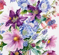Коллекция картинок: Ann Mortimer_ Цветы
