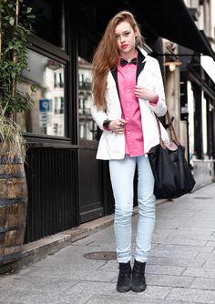 Streetlook, Fashion week Paris 2013.  Cyriella, 18 ans, étudiante en art