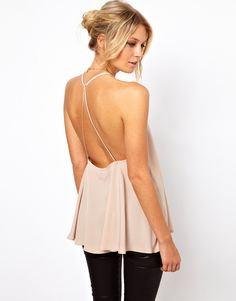 backless cami