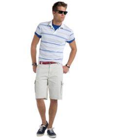 American Rag Shorts, Knit Cargo Shorts - Mens Shorts - Macy's ...