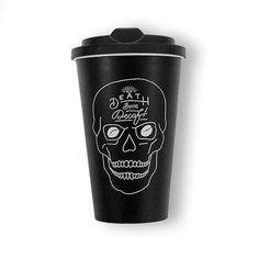 Death Before Decaf - Mug. Cheeky Accessory.