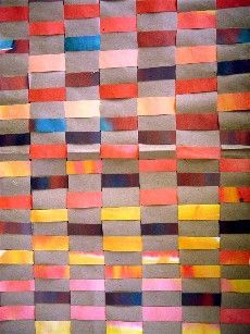 tissae sur papier avec papier.   voir ce site http://artsvisuelsecole.free.fr/ bcp d idées