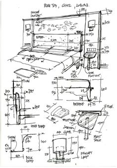 sketches of people Architecture Concept Drawings, Architecture Sketchbook, Interior Design Layout, Interior Sketch, Hotel Floor Plan, Modern Floor Plans, Hotel Room Design, Hotel Interiors, Room Planning
