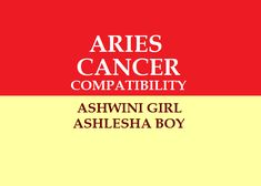 Aries Girl Cancer Boy Love compatibility Marriage Astrology, Vedic Astrology, Marriage Matching, Love And Marriage, Marriage Relationship, Horoscope, Love You, Boys, Te Amo