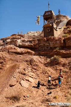 Kyle Strait at Red Bull Rampage in Virgin, Utah, United States - photo by longnguyen - Pinkbike