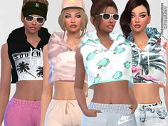 30 Hoodies^^  Found in TSR Category 'Sims 4 Female Everyday'