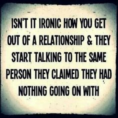 #Ironic #Start #Talking #To #The #Person #They #Had #Nothing #To #Do #With