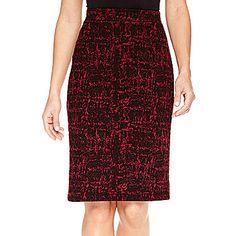 $28 jcp | Liz Claiborne® Knit Textured Skirt