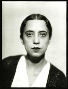 Elsa Schiaparelli, 1930, photo by Séeberger Frères. Schiaparelli was an Italian fashion designer. Along with Coco Chanel, her greatest rival, she is regarded as one of the most prominent figures in fashion between the two World Wars.