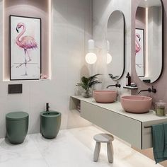 51 Elegant Minimalist Bathroom Design Ideas For Modern Home Decor - Just because you have small sized bathrooms in your home doesn't mean you cannot make it pleasing and stylish like your friend's. There are plenty of . Minimalist Bathroom Design, Bathroom Design Luxury, Modern Bathroom, Costal Bathroom, Home Room Design, Home Interior Design, Best Bathroom Designs, Home And Deco, Amazing Bathrooms
