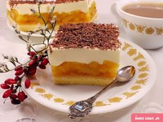Hľadali ste jablka - Page 11 of 75 - To je nápad! Czech Desserts, No Bake Desserts, Dessert Recipes, Polish Recipes, Something Sweet, Sweet Recipes, Oreo, Deserts, Food And Drink