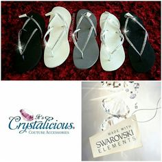 a66dd5b5a5456 ...  bling  crystals  couture  crystalicious  custom  diamonds  designer   designershoes  flipflops  fashionblogger  glam  uugifts  havaianas   handmade  love ...