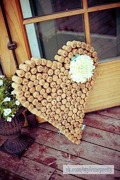 dont throw them away = beautiful result ;) wedding-ideas