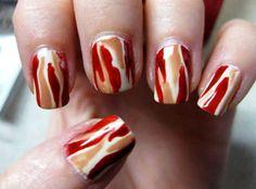 Bacon Fingernail Polish