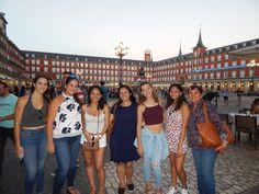 PLAZA MAYOR EN MADRID!