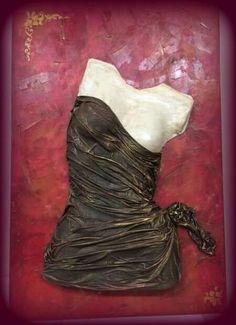 ! Mannequin Art, Leather Art, Garden Crafts, Cool Artwork, Mixed Media Art, Female Art, Sculpture Art, Decoupage, Canvas