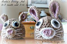 Darla's Bunny Hat - Multiple Sizes - Media - Crochet Me