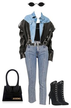 A fashion look from November 2017 featuring black victorian boots, foldover purse and two buckle belt. Browse and shop related looks. Black Outfits, Swag Outfits, Fall Outfits, Casual Outfits, Cute Outfits, Fashion Outfits, Fashion Trends, Best Wear, High End Fashion