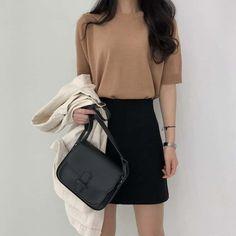 Image about fashion in Mi estilo by ♡ M E L ♡ Korean Girl Fashion, Korean Fashion Trends, Ulzzang Fashion, Asian Fashion, Look Fashion, Fashion Men, Fashion Tips, Mode Kpop, Dress Outfits