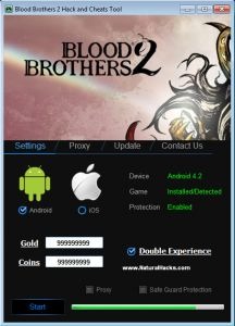 Blood Brothers 2 Hack Tool Online 2017 Tool New Blood Brothers 2 Hack Tool download undetected. This is the best version of Blood Brothers 2 Hack Tool, voted as best working tool.
