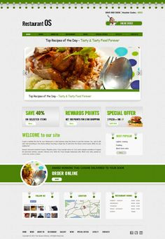 Template 4 chinese restaurant takeaway website template indian restaurant fast food takeaway pizza chinese restaurant and takeaway website templates choose your template and we build your website pronofoot35fo Choice Image
