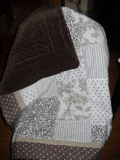 But with a different backing- would choose something in a lighter color... Neutral Baby Quilt-----LOOOOOVE THIS!!!!!!
