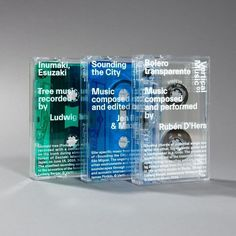Vertical Music tape batch - Fonts In Use Album Design, Book Design, Cover Design, Brand Packaging, Packaging Design, Branding Design, Graphic Pattern, Layout, Creative Makeup