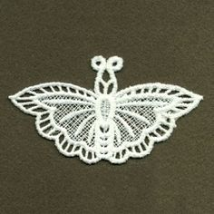 FSL Decorative Butterfly 9 - 4x4 | What's New | Machine Embroidery Designs | SWAKembroidery.com Ace Points Embroidery
