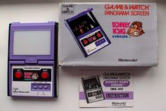 Donkey Kong Circus Game & Watch Panorama Screen by Nintendo