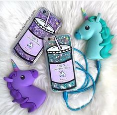 Unicorn Tears Green Phone Case Always stay classy! Shock absorbent Full 360 Protection Beautifully printed design Access to all ports, buttons & cameras