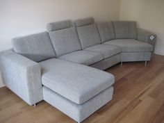 Laburnum chaise and sofa with trapeze 'end' - perfect for compact spaces.