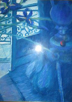 Image result for louis jansen van vuuren art blue