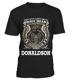 DONALDSON  #birthday #october #shirt #gift #ideas #photo #image #gift #costume #crazy #dota #game #dota2 #zeushero