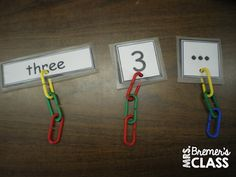 FREE Math centers for young learners- perfect hands-on learning for Kindergarten!