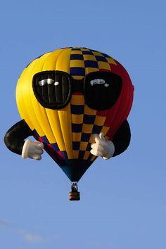 The st Albuquerque International Balloon Fiesta Special Shapes Ballon Festival, Albuquerque Balloon Festival, Albuquerque Balloon Fiesta, Air Balloon Rides, Hot Air Balloon, Sky Ride, Vintage Neon Signs, Air Ballon, Big Balloons