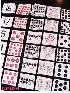 Number Sense Tips! Teaching Numbers, Numbers Kindergarten, Math Numbers, Preschool Math, Math Classroom, Teaching Math, Teen Numbers, Numbers Preschool, Math 2